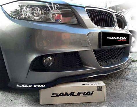 Bumper Universal Model Kelinci samurai universal fit front bumper spoiler chin lip wing trim for mazda all models buy spoiler