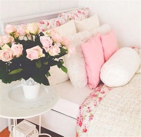 pajamas bedding flowers girly bedding kawaii home white room tumblr