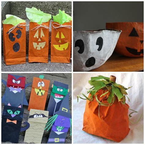 Paper Craft Bags - 35 cool things to make with a paper bag happy