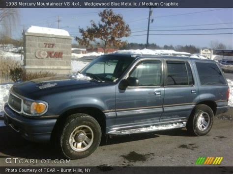 how cars run 1998 mercury mountaineer interior lighting wedgewood blue metallic 1998 mercury mountaineer v8 4x4 medium graphite interior gtcarlot