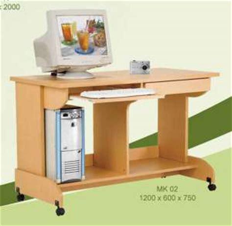 Meja Kayu Komputer home computer desk