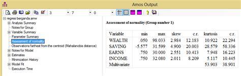 Tutorial Amos Adalah   analisis regresi berganda dengan amos 20 00 belajar spss