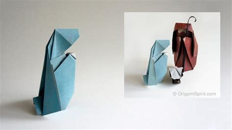 Origami Nativity - how to make a nativity in origami 1 of 3 joseph