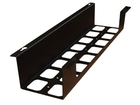 desk cable tray bpf rect underdesk metal cable trays buy