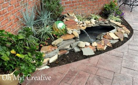 Backyard Ponds Diy Outdoor Furniture Design And Ideas Diy Backyard Pond Ideas