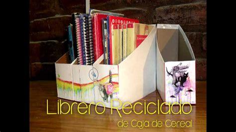 librero reciclado de carton librero reciclado bruja creativa youtube