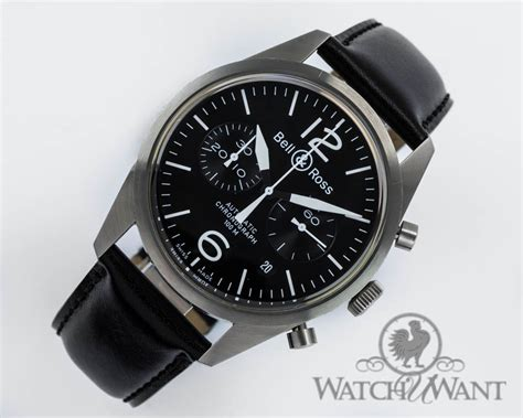 Bell Ross Original sold listing bell ross br 126 original chronograph