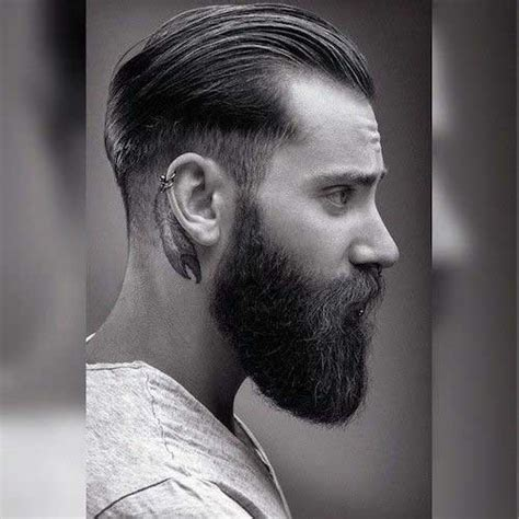 hairstyle that is slick in the front and curly in the back mens tapered hairstyles hairstylegalleries com