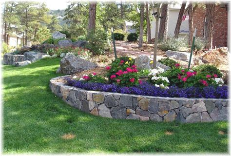 Retaining Wall Landscaping Ideas Unique Landscapes And Gardens Inc