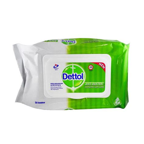 Jual Desinfektan Dettol by Jual Dettol Anti Bacterial Wipes 50s Jd Id