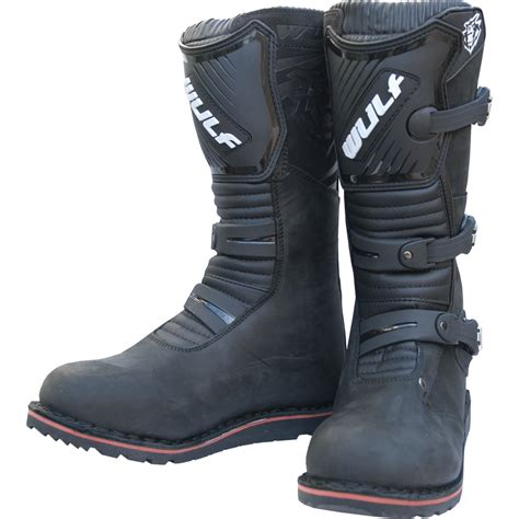 trail bike boots wulf trials boots road mx enduro leather
