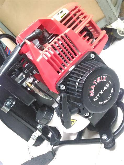 Recoil Starter Mesin Potong Rumput jual mesin potong rumput gendong 4 tak matrix mtx 431
