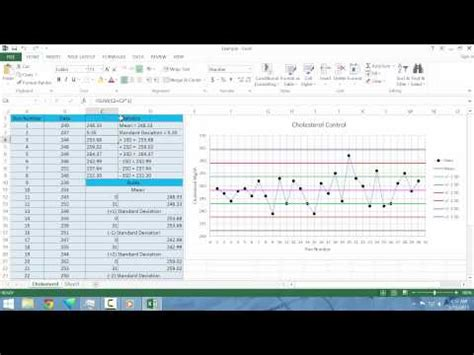 levey jennings in excel youtube levey jennings in excel youtube