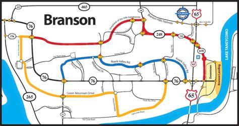 missouri map branson map of branson mo my