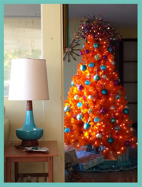 ever seen an orange christmas tree shephard summers