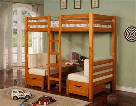 bunk bed with couch 45 bunk bed ideas with desks ultimate home ideas