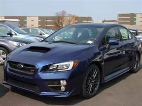 Subaru Impreza Colors 2016 Subaru Wrx Sti In New Color Quot Lapis Blue Pearl Quot Wrx