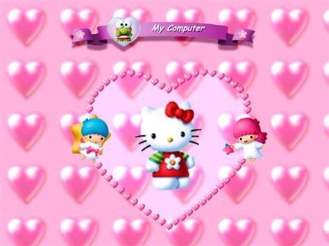 download wallpaper hello kitty untuk komputer papel de parede hello kitty cora 231 245 es wallpaper para