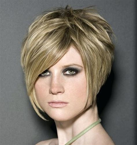 Stacked Short Hairstyles 2014 Over 50 | unique short stacked bob haircuts with bangs short sassy