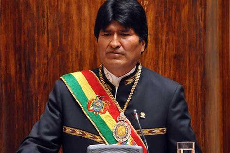 evo morales evo morales calls for defending bolivia s social achievements