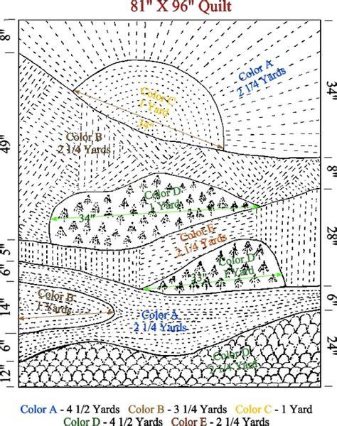 how to layout landscape fabric 3292 best quilt landscape images on pinterest quilt art