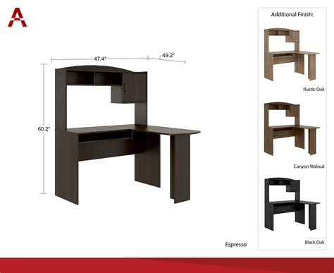 mainstays student desk multiple finishes 1 mainstays student desk multiple finishes color alder oak
