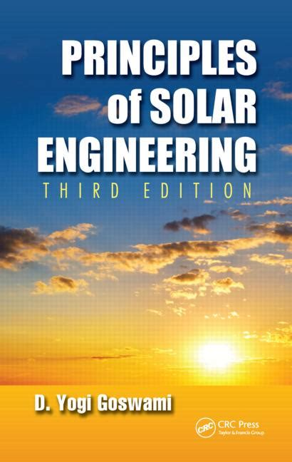 electricity pricing engineering principles and methodologies power engineering willis books principles of solar engineering third edition crc press