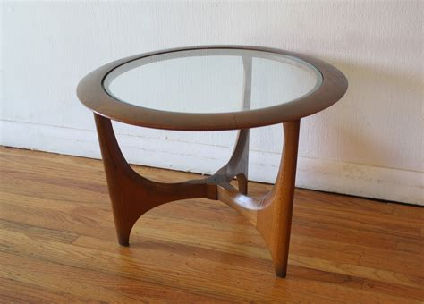 modern end table mid century modern side end table by picked vintage
