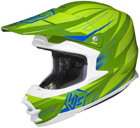green motocross helmets hjc fg x talon green lime green mx offroad motocross