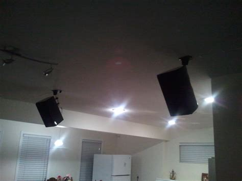ceiling mount speakers for surround sound modern ceiling