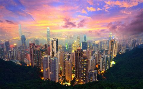 Laptop Apple Di Hongkong hong kong wallpapers hd pictures
