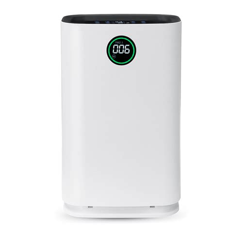 6 layers air purifier true hepa filter ionic odor dust remover anti allergies bathroom air