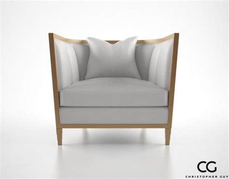 christopher guy armchair christopher guy seurat armchair 3d model max obj fbx