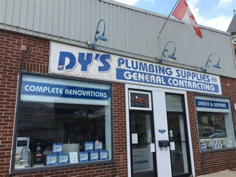 Halifax Plumbing Supplies by Dy S Plumbing Supplies Dundas On 10 Foundry St Canpages