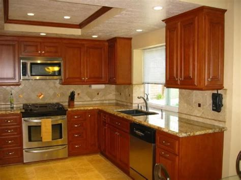 pictures of kitchens with cherry cabinets bar stool in bar