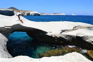 Create Your Dream House sarakiniko view milos greece the stunning moon like