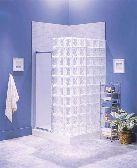 pittsburgh corning s glass block shower systems streamline