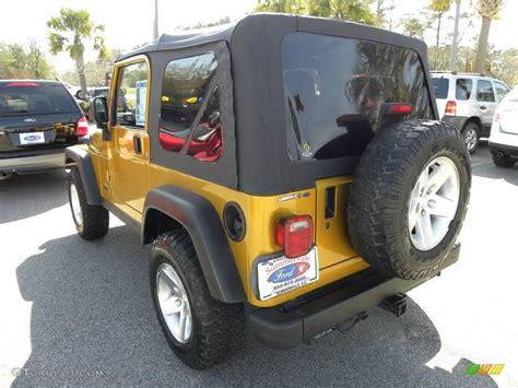 Inca Gold Jeep Wrangler 2003 Inca Gold Metallic Jeep Wrangler Rubicon 4x4