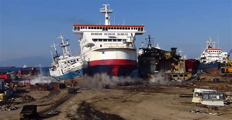 ferry boat captain turkish ferry boat captain beaches his ship for scrapping