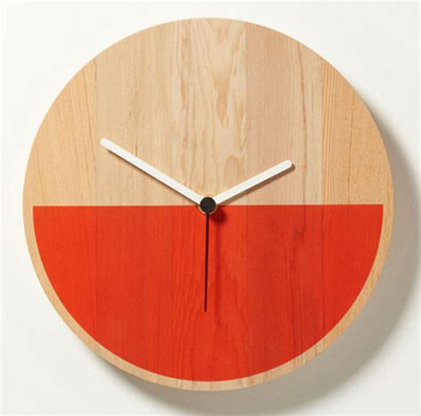 Design Milk Clock | primary clock by david weatherhead goodd design milk