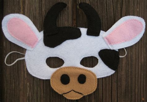 fil a cow mask template 17 best images about costumes on cow
