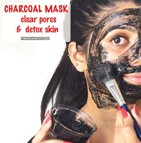 How To Detox Your Pores by Diy Charcoal Mask To Clear Pores And Detox Skin