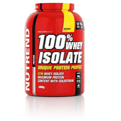 Suplemen Whey Isolate 100 whey isolate nutrend supplements