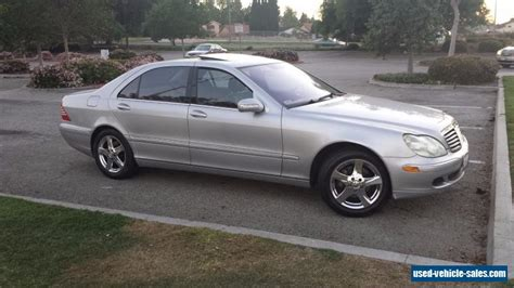 Mercedes 2004 For Sale by 2004 Mercedes S Class For Sale In The United States