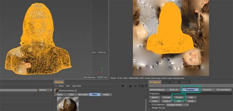 uv layout photoshop how to remap the uv textures of a 3d scan in bodypaint 3d