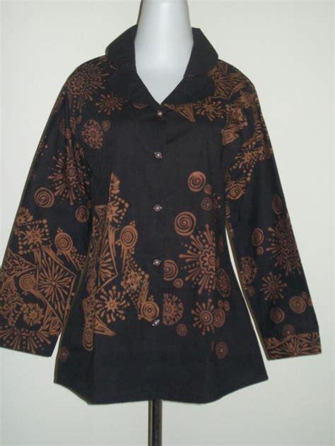 Kemeja Batik Katun Lengan Panjang 50 50 galeri blouse batik lengan panjang yang laris