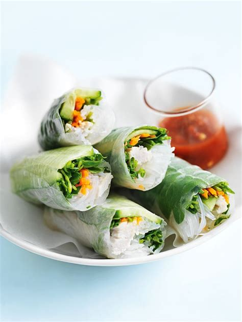 How To Make Chicken Rice Paper Rolls - top 59 ideas about easy weeknight dinners on