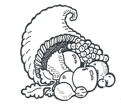 turkey to color clipart clipart suggest thanksgiving cornucopia coloring pages az coloring pages