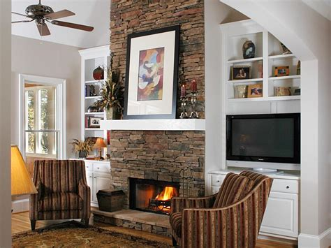 fireplace in dining room instead of living room natural stone fireplaces hgtv