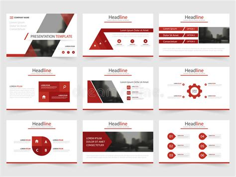 open office presentation templates card layout triangle presentation templates infographic elements
